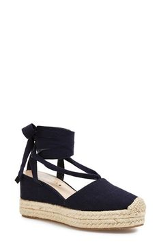 Via Spiga 'Ralina' Espadrille Wedge (Women) available at #Nordstrom