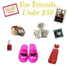 Gift Guide: For Friends Under $50