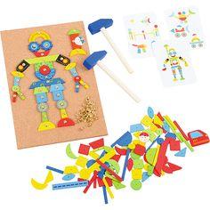 Przybijanka dla dzieci #creative #toys #kids  http://www.mojebambino.pl/przybijanki/1371-przybijanka-duza.html