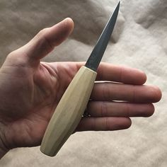 The Mora 106 is hands-down one of the best carving knife blades in both design and affordability. With this blade you can do the rough work, the detailed work, and with the right skill, engrave the work. No matter how many custom knives, there will always be one in my kit, sometimes it's the only straight blade I bring.