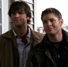 1x08 Bugs... Larry: Let me just say. We accept home owners of any race, religion, color or... sexual orientation. Dean: We're brothers.