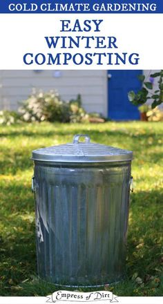 Easy Winter Composting in a Cold Climate