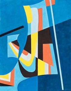 By Sam Vanni (1908 - 1992) Geometric Painting, Abstract Painters, Geometric Art, Abstract Art, Graffiti, Classical Art, Art File, Op Art, Beautiful Paintings