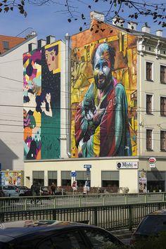 Mural Art, Wikimedia Commons, Sculpture Art, Street Art, Wall Art, Mural Wall Art, Mural Painting, Wall Paintings