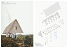 Winners of the Iceland Trekking Cabins architecture competition announced! With winning teams from Canada, Sweden and Australia.