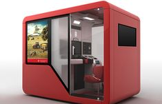 Office Cube, Office Pods, Mini Office, Kiosk Design, Booth Design, Retail Design, Container Design, Sleep Box, Digital Kiosk