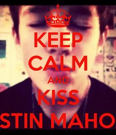 austin mahone with his shirt off   KEEP CALM AND KISS AUSTIN MAHONE! - KEEP CALM AND CARRY ON Image ...