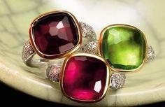 Pomellato garnet Sherazade ring - Google Search