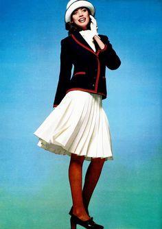 Blazer style Jean-Louis Scherrer, 1972