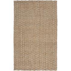Hand-woven Garrett Jute Rug (3'6 x 5'6)- Entryway