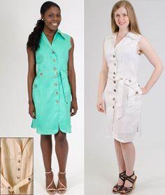 Spring 2015Lino USA Mint White Khaki Sizes S-4X