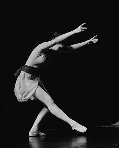 Beautiful black and white ballerina photo by melissagarsia