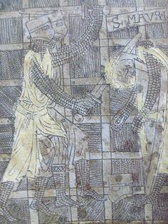 1225, uccisione di San Maurizio, cassa dell'abate Nantelmo