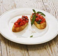 Bruschetta (Topinka) Bruschetta, Baked Potato, Potatoes, Baking, Ethnic Recipes, Potato, Bakken, Backen, Baked Potatoes