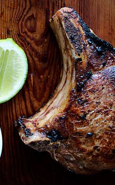 Fish sauce and lime? Yes please. Vietnamese pork chop recipes here.