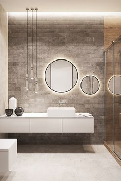 57 Ideas home interior colors neutral mirror for 2019 Family Apartment, Apartment Design, Interior House Colors, Home Interior, Toilet Design, Bathroom Design Luxury, Small Bathroom, Bathroom Ideas, Bathroom Sinks