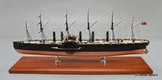 "1/350 scale (23.73"") SS Great Eastern Replica Model"