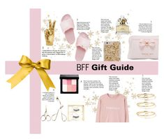 """""""December Day 1: BFF Gift Guide"""" by briesepb ❤ liked on Polyvore featuring Maya Brenner Designs, Battington, Steve Madden, Bobbi Brown Cosmetics, Ted Baker, Marc Jacobs and MANGO"""