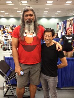 with Grant Imahara at Long Beach Comic Expo 2012