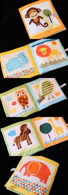 Tutorial para realizar un libro de tela para bebés y niños (paso a paso con imagenes). Baby fabric book: how to
