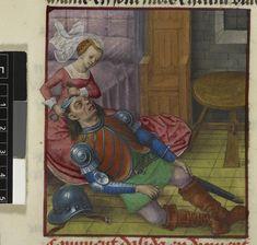 Samson and DelilahGuillaume de Lorris and Jean de Meun TitleRoman de la Rose OriginNetherlands, S. (Bruges) Datec. 1490-c. 1500 LanguageFrench