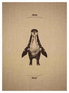 Jeep: Giraffe-Penguin from their 'See Whatever You Want to See' campaign