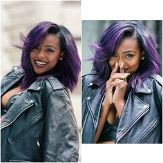 ***Try Hair Trigger Growth Elixir*** ========================= {Grow Lust Worthy Hair FASTER Naturally with Hair Trigger} ========================= Go To: www.HairTriggerr.com ========================= Her Purple Hair is BOMB!!!