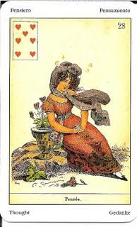 Sibilla Oracle (La Sibylle des Salons) Card Meanings – Golden Mousedeer Ace Of Hearts, Remember The Name, Cartomancy, Tarot Cards, Good News, Meant To Be, Salons, Thoughts, Painting