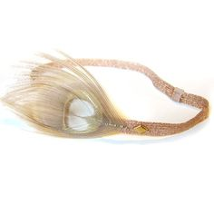 Bleached Peacock Headband, $32, now featured on Fab.