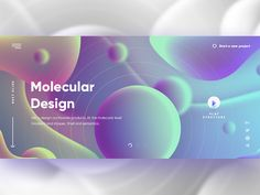 n that atomic level 😎 - Concept by Fred Zachinov on Dribbble Graphic Design Trends, Graphic Design Posters, Web Layout, Layout Design, Font Design, Website Design Inspiration, Graphic Design Inspiration, Page Design, Design Web