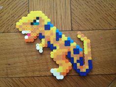 T-Rex perler fuse beads by Cameryn Robinson
