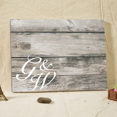 Customized Signature Guestbook Wood Frame Canvas Print for Signature Wedding Guest Book Alternative Rustic Wedding Decorations