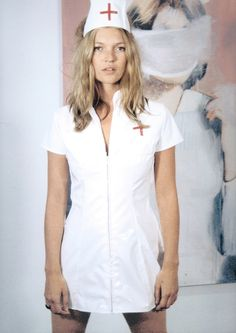Nurse. #KateMoss by Richard Prince.