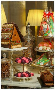 Christmas Tea Time at Le Maurice, Paris, France