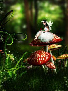 Magic background 2 by moonchild-ljilja on DeviantArt Fairy Dust, Fairy Land, Fairy Tales, Fantasy World, Fantasy Art, Magic Background, Elves And Fairies, Love Fairy, Beautiful Fairies