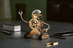 The Sherman Robot Clock