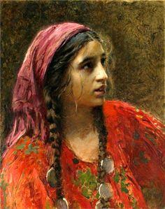 'Gypsy' by Konstantin Makovsky.