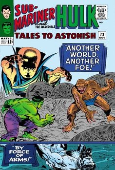 Tales to Astonish #73 - By Force Of Arms!/Another World, Another Foe!