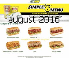 Subway Coupons Ends of Coupon Promo Codes MAY 2020 ! Is a of it's but It private Subway operator selling over 2019 in is restaurant, . Free Coupons By Mail, Free Printable Coupons, Love Coupons, Free Printables, Sandwiches, Coupons For Boyfriend, Snack Recipes, Snacks, Grocery Coupons