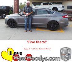 """""""5 Stars!"""" Marcus H."""