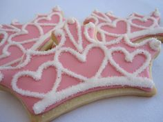 Image detail for -40 princess crown cookie favors