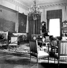 Alix's Formal Reception room in Alexander Palace