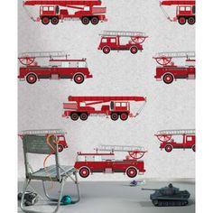 http://www.behangmijnwoning.nl/oz-3175.html behang voor de kinderkamer brandweer