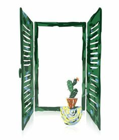 David Gerstein Cactus Window Sculpture by World of Judaica. $100.00. Material: Metal. Dimensions: 30 x 20cm. Your order includes 1 item(s).. You will be pleasantly surprised! The vast majority of our shipments arrive within 10-14 business days from time of shipment, far in advance of Amazon's default calculation of shipping times for items shipped from Israel.. Jewish artist David Gerstein uses his signature love of bright colors and precise laser-cut steel to creat...