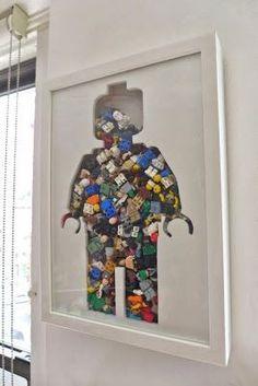 J'ai découvert cette superbe idée du LEGO Art sur Pinterest.    Une idée que je me suis permis de reproduire avec une légère variante. ...