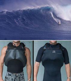Portable Self-Inflation Vest