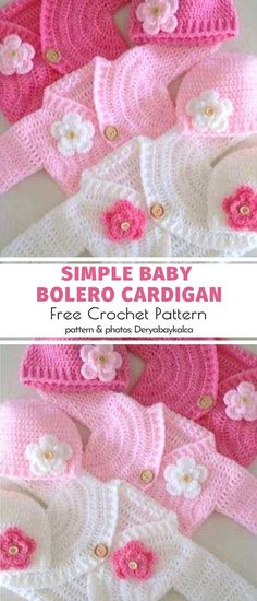 So cute! You will love this baby cardigan for its elegant appearance. It looks perfect with any children's outfit. You can make it in many different colors to match your kid's clothes for any weather. This pattern is meant for a 1-year old but will be perfect for kids of any age since you can easily adjust the size simply by adding rows.  #freecrochetpattern #babycardigan