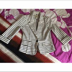 Striped Blazer worn couple times / great condition Sans Souci Jackets & Coats Blazers