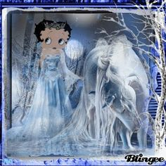 Image result for betty boop snow