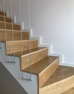 Pin on Stairs Home Stairs Design, Stair Railing Design, Interior Stairs, House Design, Railing Ideas, Stairs Skirting, Small Balcony Design, Rustic Bathroom Designs, House Stairs